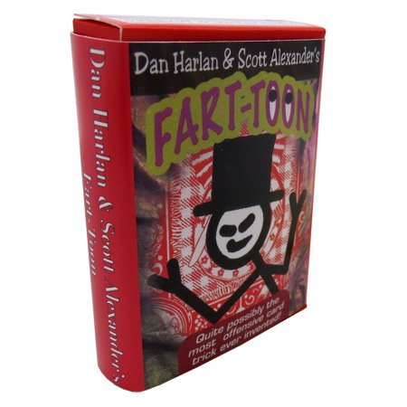 Dan Harlan & Scott Alexander's Fart Toon - Quite Possibly the Most Offensive Magic Card Trick Ever