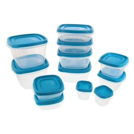 Rubbermaid Food Storage Containers w/Easy Find Lids System - Stain Resistant BPA Free Tritan Plastic - Great for Storing Leftovers & Staples - 24 Piece Set - (Best Food Storage System)
