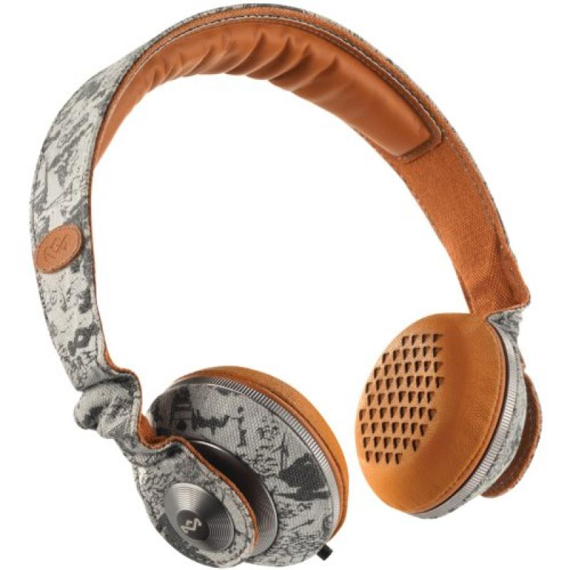 House of Marley EM-JH053-CT Riddim City On-Ear Headphones
