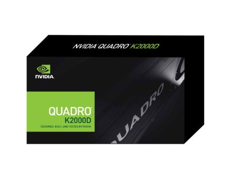 NVIDIA Quadro K2000D 2GB GDDR5 Graphics card (PNY Part #: VCQK2000D-PB) by PNY