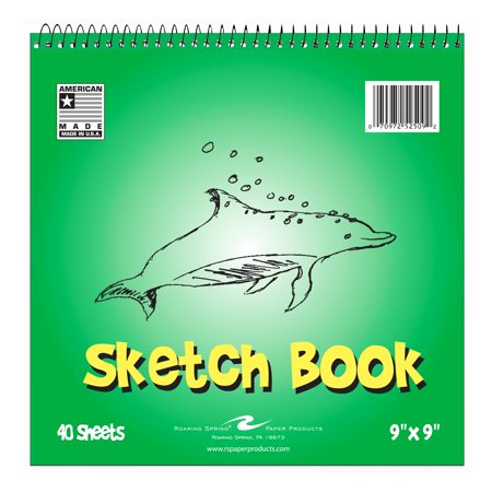Collection Floral Sketch Print - KIDS SKETCH BOOK, 9