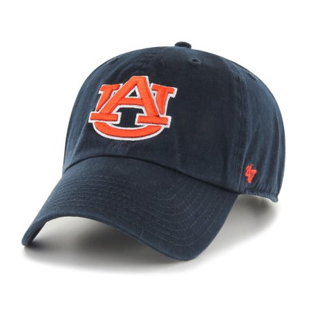 - Auburn Tigers 47 Brand NCAA Clean Up Adjustable Hat - Navy