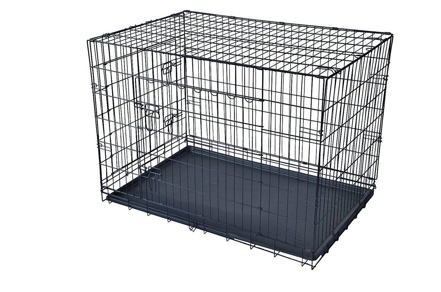 "BestPet 30"" Large Folding Wire Pet Cage For Dog Cat House Metal Dog Crate by"
