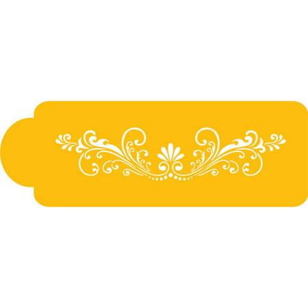 (Designer Stencils Decorating Stencil Fleur de Lis Side)