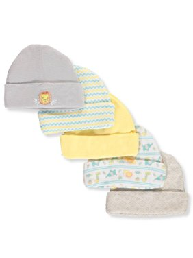 Cribmates Baby Boys' 5-Pack Caps
