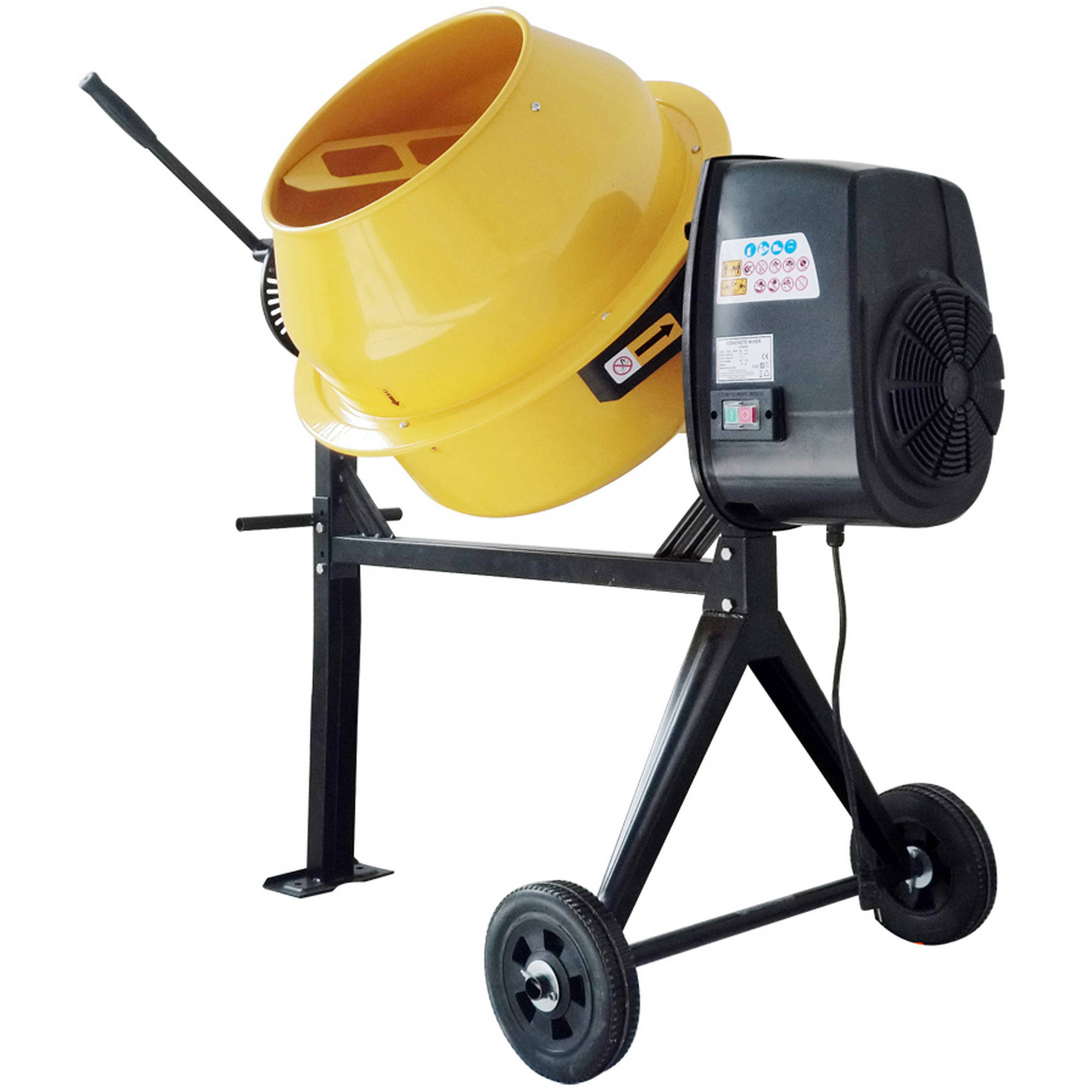 Pro-Series 3.5 Cubic Foot Electric Cement Mixer by New Buffalo Corp.