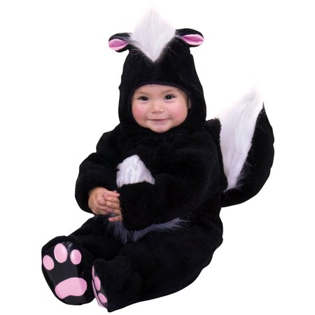 Skunk Infant Halloween Costume, 6-12 Months - Pinocchio Infant Costume