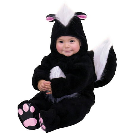 Skunk Infant Halloween Costume, 6-12 Months - Discount Infant Halloween Costumes