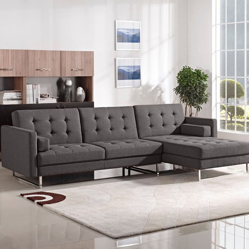 Diamond Sofa Opus Convertible Chaise Sectional