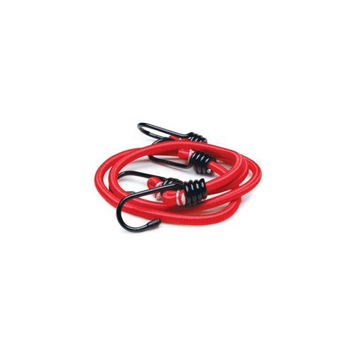 24 Heavy-Duty Stretch Cords with Anti-Scratch Hooks  7mm 2-Pack