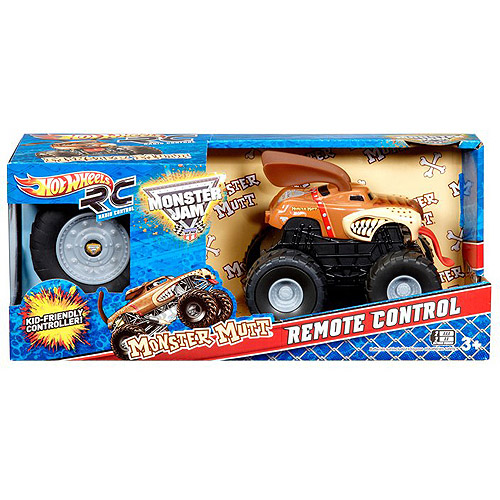 Hot Wheels Monster Jam Monster Mutt Remote Controlled Vehicle