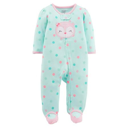 Baby Girl Zip-up Sleep 'N Play