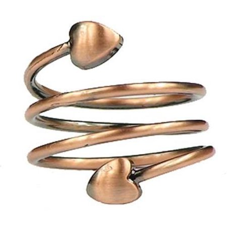 Copper Plated Spiral - Magnetic Therapy Ring (FR-4)