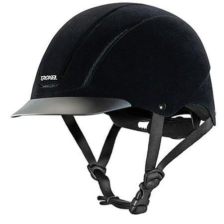 Troxel Capriole Velveteen Show Helmet - Velveteen Show Helmet