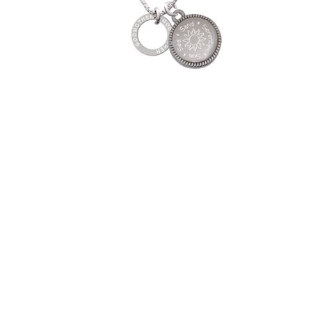 00d59059ef88 Godmother Eternity Ring Sun Sea Sand Serenity Engraved Necklace -  Walmart.com