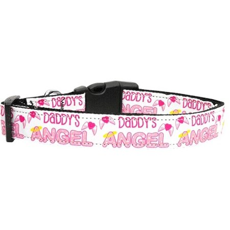 Mirage 125-107 LG Daddy's Angel Dog Collar Large](Angel Dog)