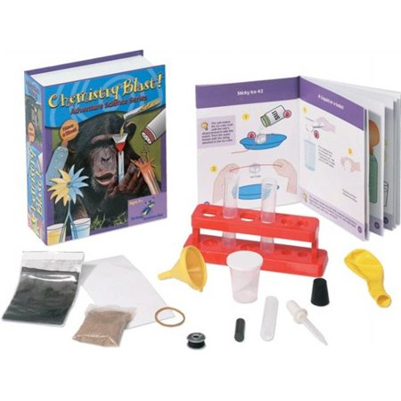 The Young Scientists Club WH-925-1117 Adventure Science Series- Chemistry Blast Kit - Kids Chemistry Sets