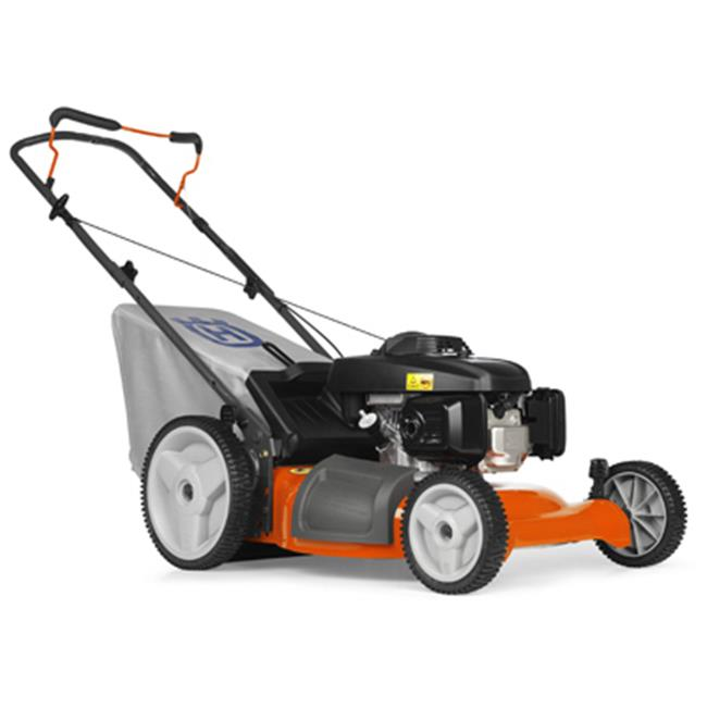 Husqvarna Outdoor Products 7021P 961330019 3-In-1 Push Lawn Mower, High-Wheel, 160cc Engine, 21-In. by Husqvarna