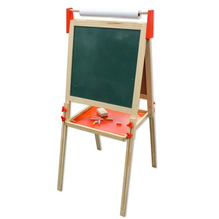 Wooden Floor Easel - Kids Painting Easel