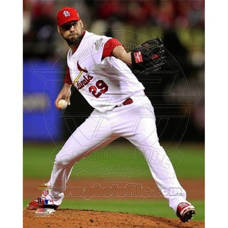 Chris Carpenter Game 7 of the 2011 MLB World Series Action - 35 Sports Photo - 8 x 10