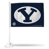 Brigham Young Car Flag