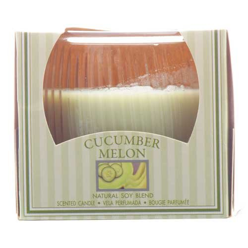 Cucumber Mini Scented Jar Candle Natural Soy Made USA