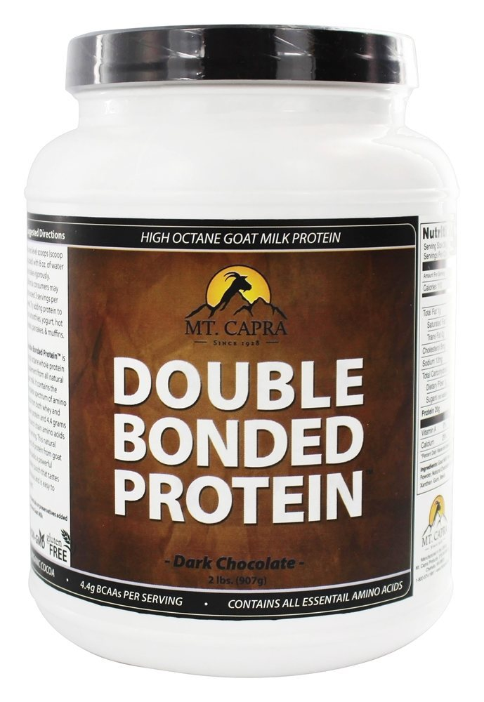Mt. Capra Products Double Bonded Goat Milk Protein Chocolate 2 lbs. by