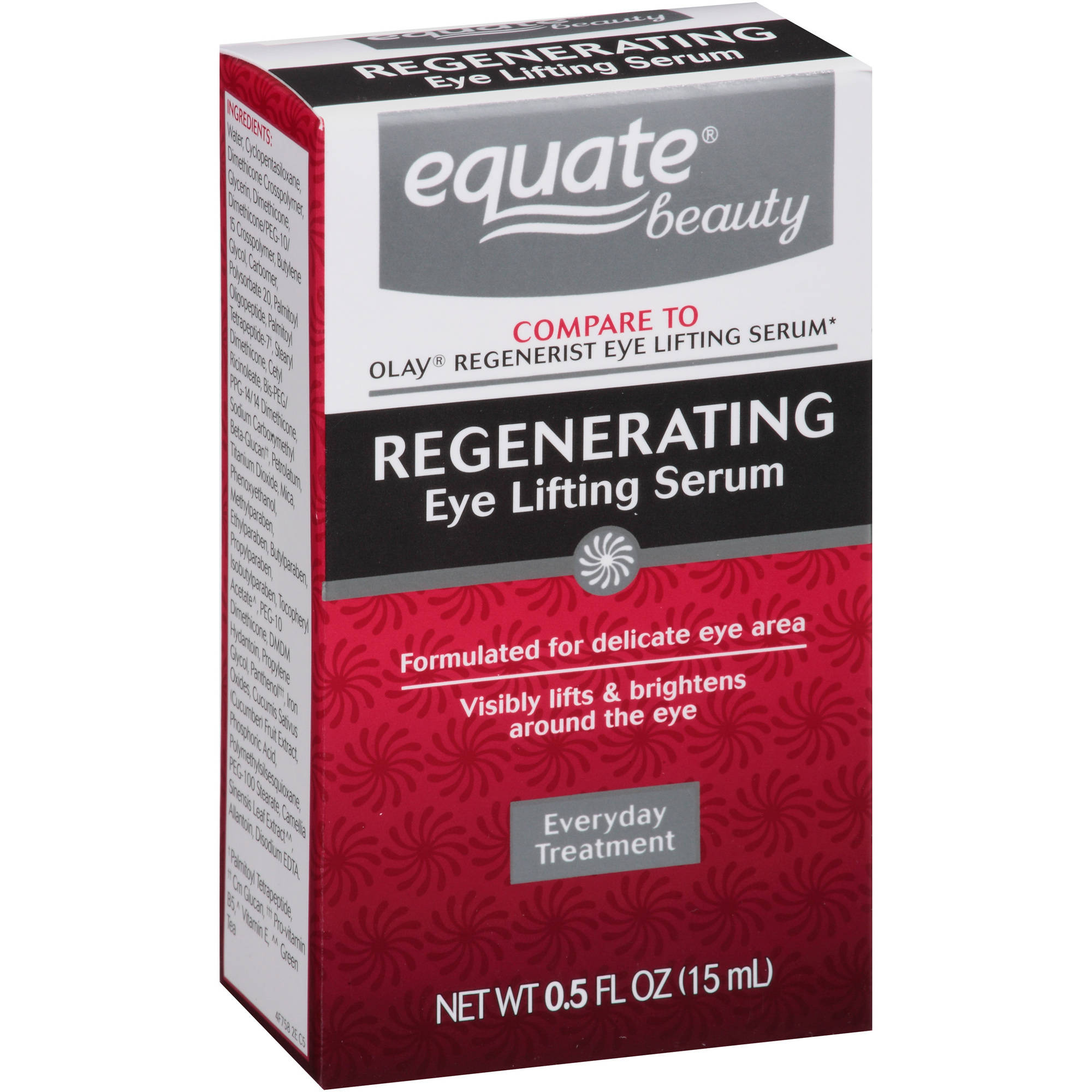 Equate Beauty Regenerating Eye Lifting Serum, 0.5 fl oz