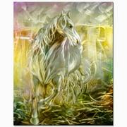 Metal Artscape The Stallion Graphic Art Plaque
