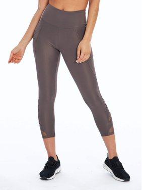"""Bally Total Fitness Women's Active Exhale Mid Calf Legging 22"""" Inseam"""
