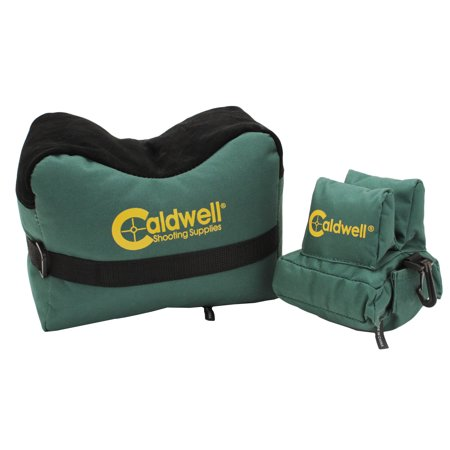 PAST 939-333 DEADSHOT FRONT/REAR COMBO REST BAG FILLED GREEN 600D -