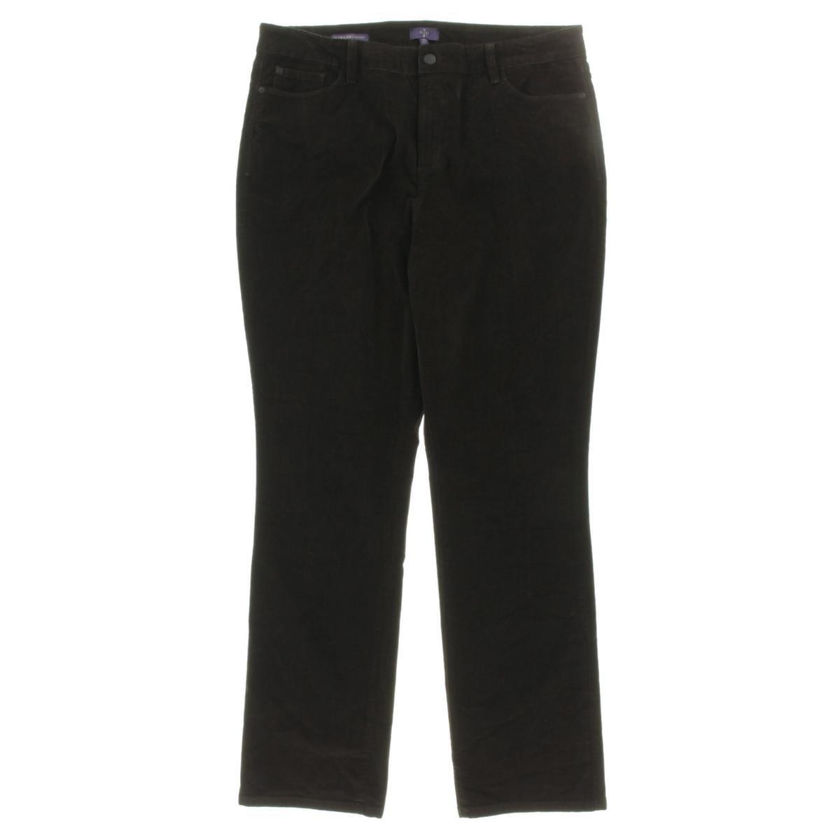 NYDJ Womens Corduroy Slimming Fit Corduroy Pants