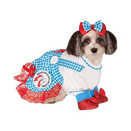 Rubies Costume Wizard of Oz Collection Pet Costume, Medium, - Dorothy Custome