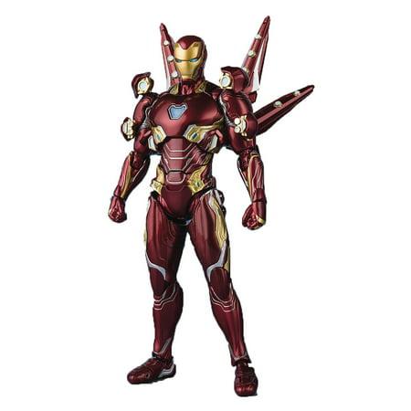 Marvel Avengers: Endgame Iron Man Mark 50 Nano Weapon Set 2 Ver. Action (Iron Man 2 Mark Vi Hot Toys)