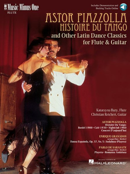 Astor Piazzolla Histoire Du Tango and Other Latin Dance Classics for Flute & Guitar by