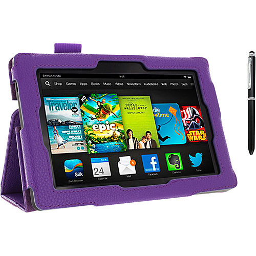 rooCASE Amazon Kindle Fire HD 7 (2013): Dual Station Case
