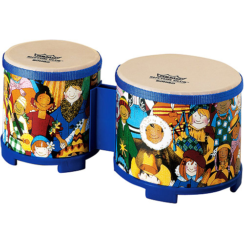 "Remo Rhythm Club Bongos, 5""/6"" Diameter"