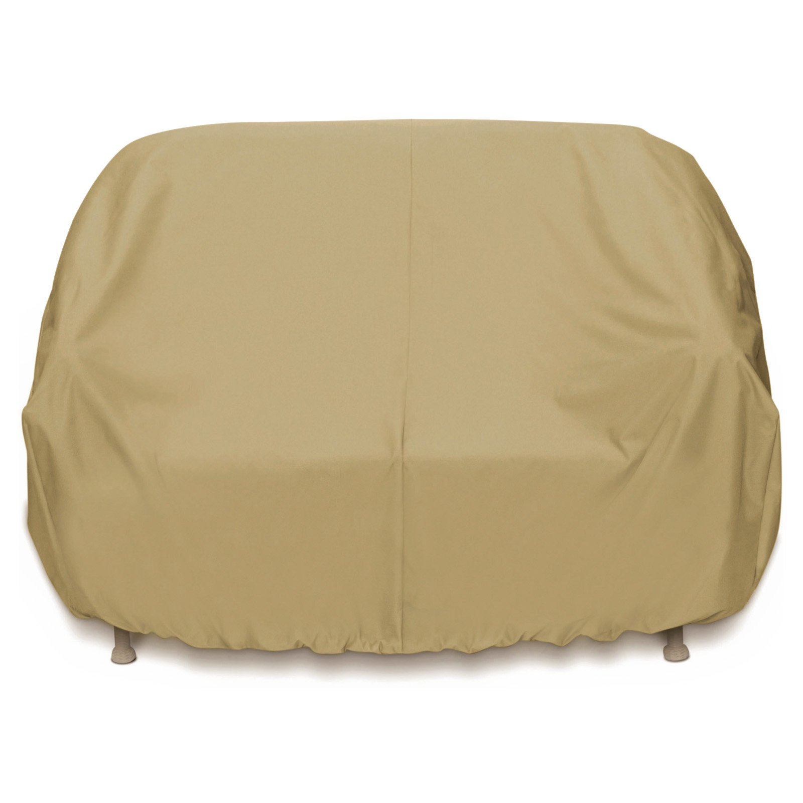 Two Dogs Designs 2D-PF88365 3-Seat Sofa Cover Khaki by Smart Living