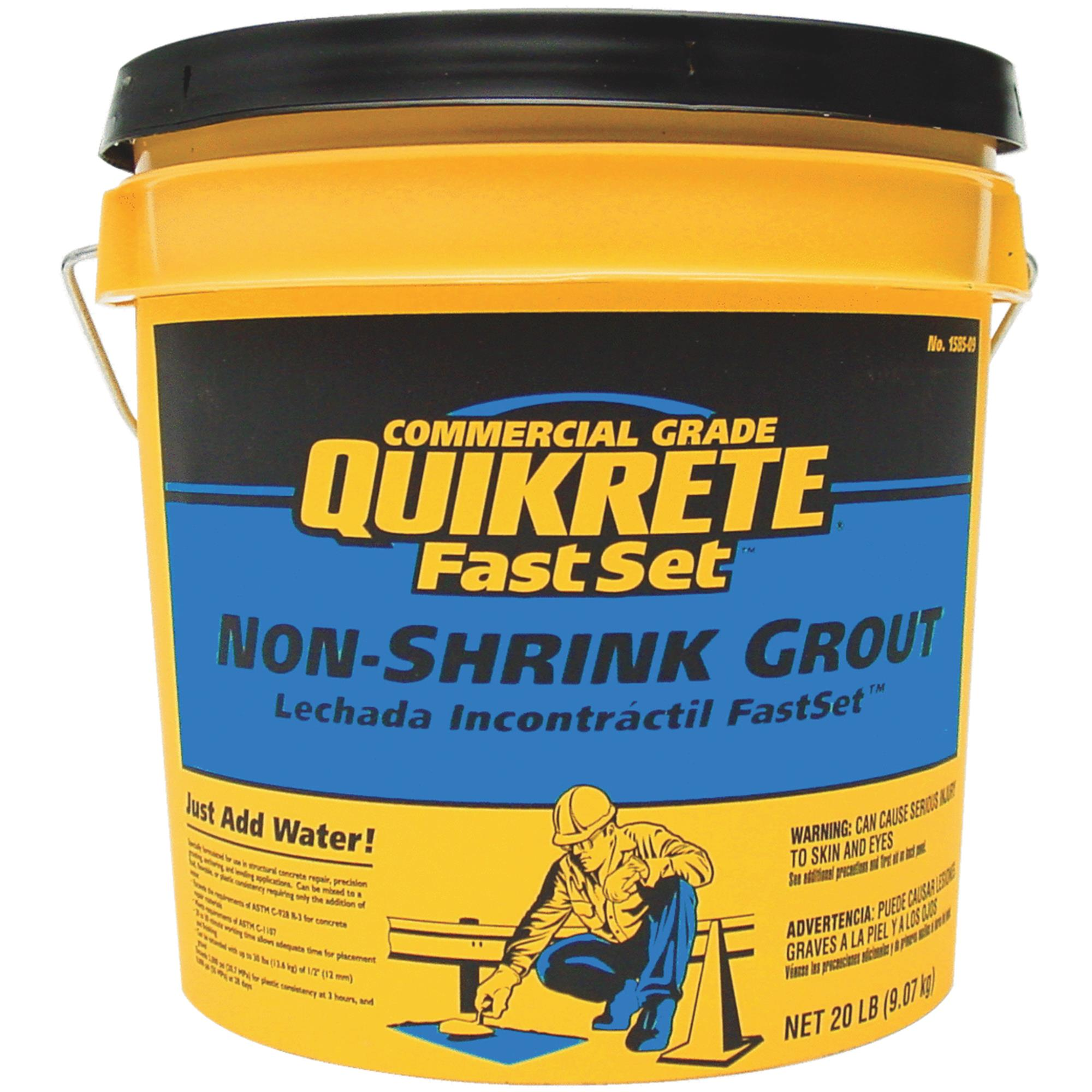 Quikrete Fast Set Nonshrink Grout