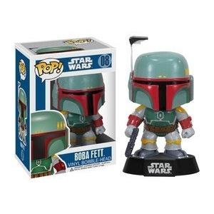 FUNKO Pop! Star Wars Boba Fett Vinyl Bobble Head Figure