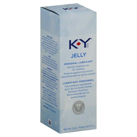 K-Y Personal Water Based Lubricant Jelly - 2 oz Bottle ()