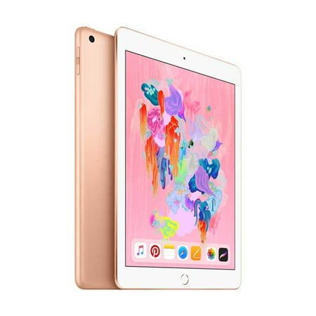 Apple iPad (6th Gen)128GB Wi-Fi + Cellular - Gold