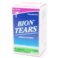 Alcon Bion Tears Lubricant Eye Drops, Single-Use Vials - 28 Ea, 6 Pack