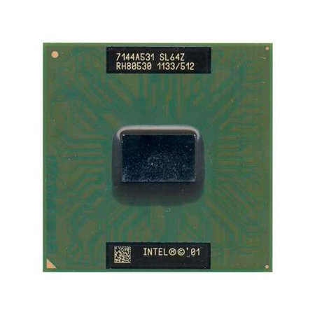 SL64Z H-PBGA479 PPGA478 INTEL MOBILE PENTIUM III-M SL64Z 1.133GHZ ORIGINAL LAPTOP PROCESSOR CPU SL64Z Laptop Processors - Used Very - Pentium Mobile