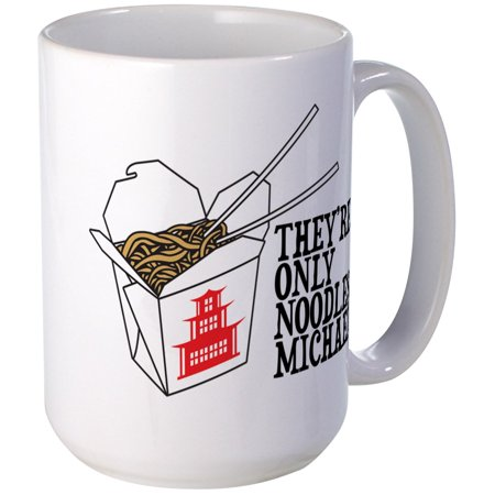 CafePress - The Lost Boys: Noodles Mugs - 15 oz Ceramic Large (The Boss And The Real Boss Mugs)