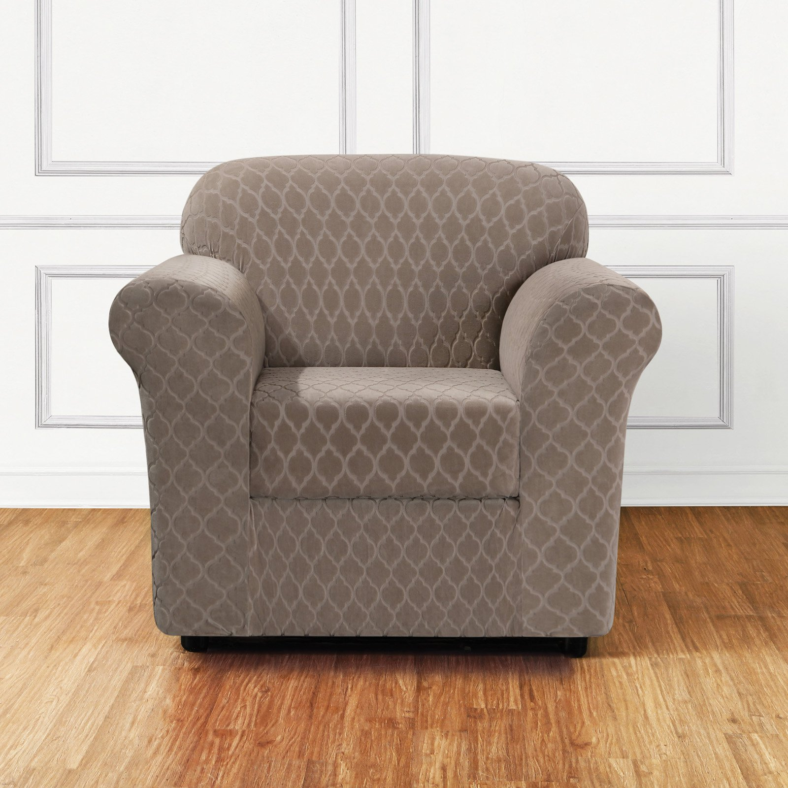 Sure Fit Stretch Grand Marrakesh 2 Piece Chair Slipcover