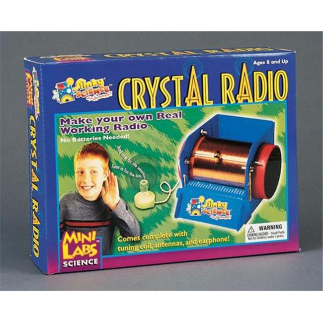 Olympia Sports 98701 Crystal Radio Kit