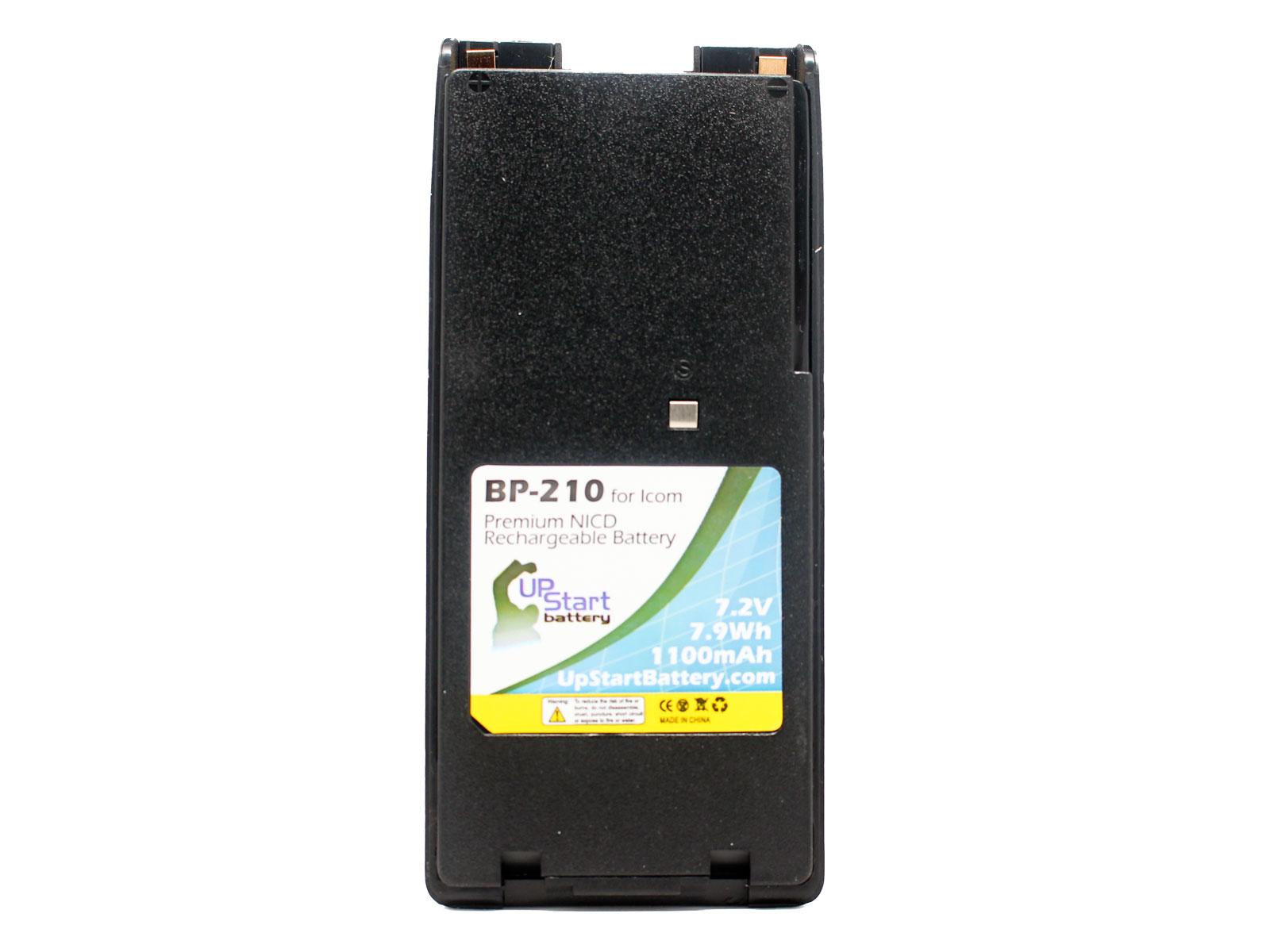 2x Battery Clip ICOM IC-V8 IC-A6E IC-U82 IC-F21GM IC-F30GT NICD 1100mAh