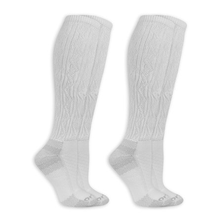 Dr. Scholl's Women's Advanced Relief Knee High Socks with BlisterGuard 2 Pack ()