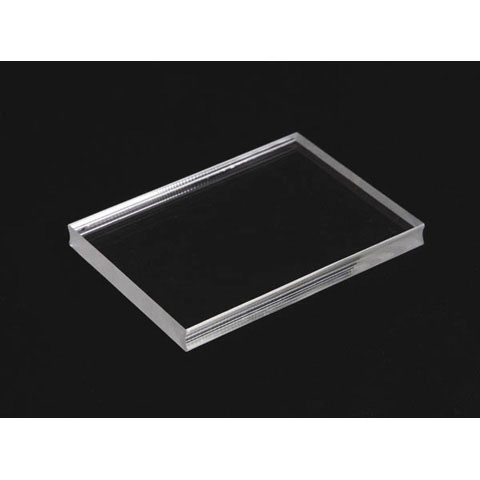 See Ds Clear Acrylic Stamp Block 4X5.25